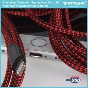 Nylon Braided USB Fast Charging Cable to Lightning Cable pictures & photos