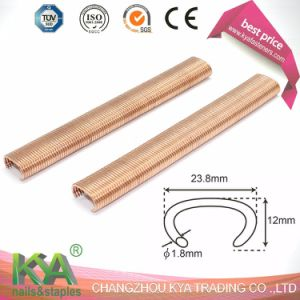 15g100 Copper Pneumatic Hog Ring Staples pictures & photos