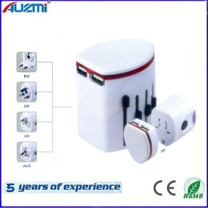 Universal Travel Adapter with UK/Us/EU/Aus Plug