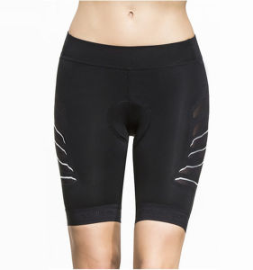 Women′s Low Rise Gym Fitness Sports Compression Spandex Shorts pictures & photos