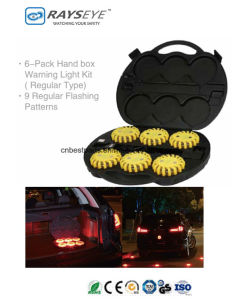 9 in Strobe Warning Rechargeable Case Safety Light Case Power Flare Kit pictures & photos
