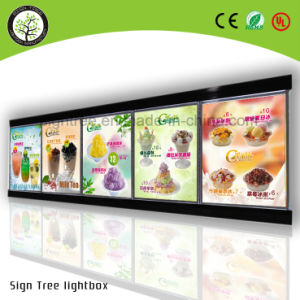 White Color High Brightness Tablet Super Menu Slim Light Box pictures & photos
