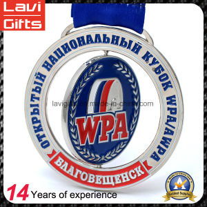 New Style Custom Wpa Spinning Weightlifting Medal pictures & photos