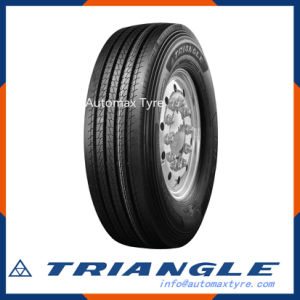 Trs02 Triangle EU Label Hot Selling Quality Guarantee Top Brand Low Rolling Resistance Compound Design Truck Tyre pictures & photos