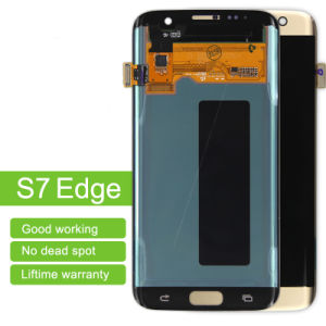 LCD Display Digitizer Touch Screen Assembly for Samsung Galaxy S7 Edge G935A LCD Screen pictures & photos