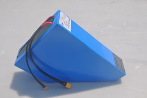 New 48V 28ah Triangle Battery for Ebike by 13s8p pictures & photos