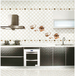 6D-Inkjet Glazed Interior Porcelain Wall Tile for Building Material 300X600mm pictures & photos