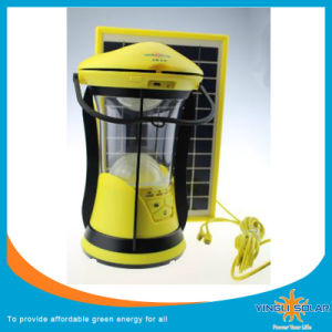Hot Sale Yingli High Quality Portable Solar Camping Lights with Solar Panel pictures & photos
