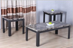 Coffee Table Colletion (1 RECTANGLE TABLE+2 SQUARE TABLES)