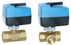 Copper Hydraulic Proportional Motorized Water Zone Valve (HTW-MV03) pictures & photos