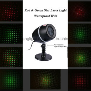 Waterproof Outdoor Xmas Christmas Decoration Red&Green Star Laser Light pictures & photos