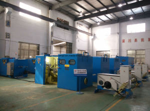 1+6+12 (19PCS) of Electrical or Cable Wire Twisting Stranding Bunching High Capacity Twister Machine pictures & photos