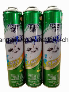 Aerosol Tin Cans for Insecticide Spray Products