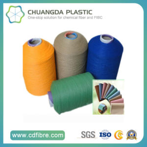 Colorful Fine Denier Multi Filament Aty Yarn for PP Webbing pictures & photos