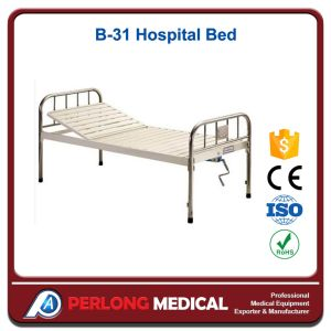 Hospital Furniture Epoxy Coated Semi-Fowler Medical Bed B-31 pictures & photos