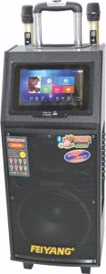 10 Inch Portable Big Power Touch Screen Karaoke System Bluetooth Speaker with WiFi pictures & photos