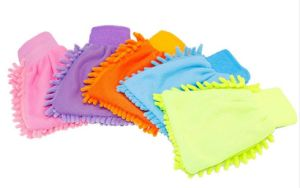 Micro Mitt Two-Sided Microfiber Car Cleaning Mitt (YYCG010) pictures & photos
