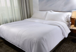 Hotel Collection White Bedding Set 400 Threadcount Cotton Bed Linen pictures & photos