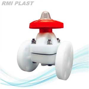 PVC Valve/Plastic Valve/Diaphragm Valve pictures & photos