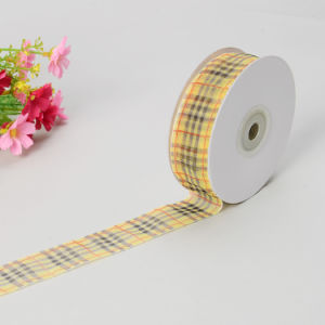 "1"" Scotch Sheer Organza Ribbon pictures & photos"