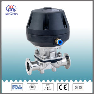 DIN Stainless Steel Pneumatic Clamped Diaphragm Valve pictures & photos