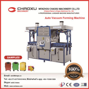 Double Heating Vacuum Forming Machine (YX-28AS) pictures & photos
