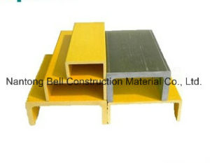 U Type FRP Pultruded Profile, Fiberglass Reinforce Plastic U-Channel. pictures & photos
