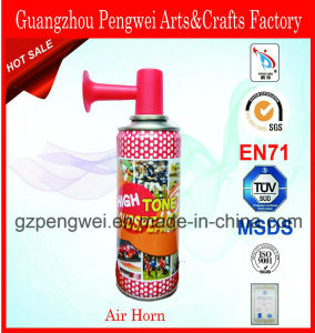 Canned Small Hand Air Horn for Sports and Parties pictures & photos