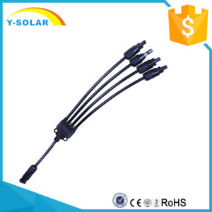 50pair/Lot 1 to 4 30A Solar Panel Cable Connector DC1000V Mc4y-B4 pictures & photos