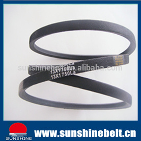 High Quality Classical Wrapped Rubber V Belt B100 pictures & photos