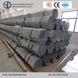BS 1387 Pre Galvanized Round Steel Pipe pictures & photos