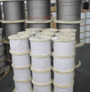 7*19 Stainless Steel Wire Rope 201/302/304/316 pictures & photos