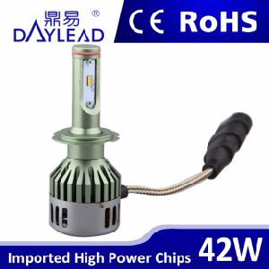Car LED Headlight H7 Low Beam 42W High Power Phillip Chips 12V pictures & photos
