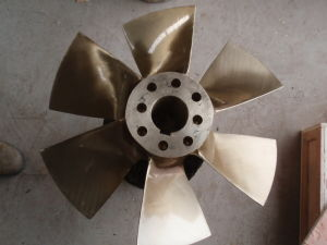 4 Blade Small Ship Outboard Water Propeller Bronze Boat Propeller pictures & photos