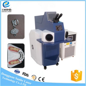 Dongguan200W 300W Jewelry Gold Slivery Laser Spot Welding Machine ISO Ce FDA pictures & photos