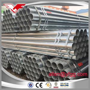 BS1387 Medium Grade Hot DIP Galvanized ERW Round Steel Pipes pictures & photos