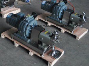 High Viscosity Rotor Lobe Pump Chocolate Transfer Pump pictures & photos