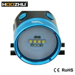Hot Selling Hoozhu Hv33 Diving Video Light with Max 4000 Lm Waterproof 120m Dive Light