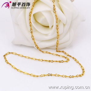 Xuping Fashion 24k Gold Color Necklace (42480) pictures & photos