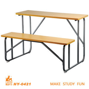 cheap school desk with bench simple design students desk - School Desk Design