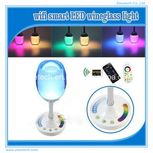 Rechargeable USB LED Bulb Light RGB
