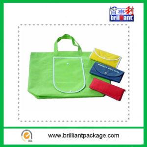 Reusable Polyeste Folding Shopping Bag for Supmarket Shopping pictures & photos
