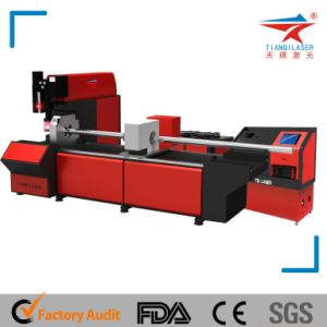500W CNC Fiber Optic Laser Sheet Metal Cutting Machine pictures & photos