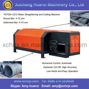 CNC Hrdraulic Steel Bar Straightening and Cuttng Machine/Rebar Straightening Machine pictures & photos