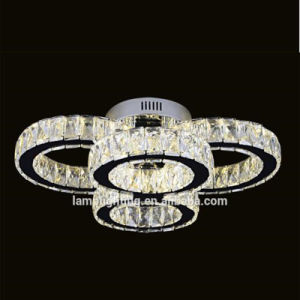 European Hotel Decorative LED Round Crystal Ceiling Lamp pictures & photos