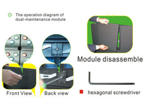 Chipshow Ad13 Outdoor Dual-Maintenance Advertising LED Display Module pictures & photos