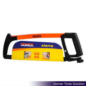 New Arrival Heavy Duty Rubber Handle Good Quality Hacksaw Frame (T09116) pictures & photos