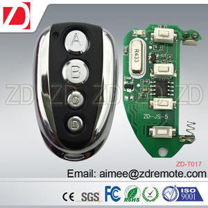 Zd Universal RF Remote Control for Fix Code, Learning Code, Rolling Code pictures & photos