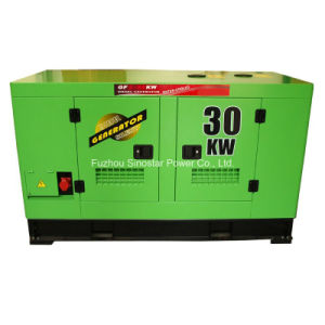 Soundproof Type 30kw Diesel Generator with Ricardo Engine