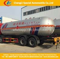 2axles 40, 000liters LPG Gas Cyliner Storage Tanker Trailer pictures & photos
